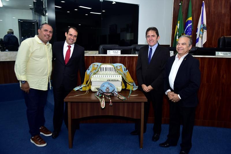Heitor Holanda, Salmito Filho, Adail Junior, Eron Moreira