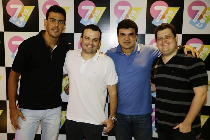 Rodrigo Kantal, Eugenio Parente, e Fernando Parente