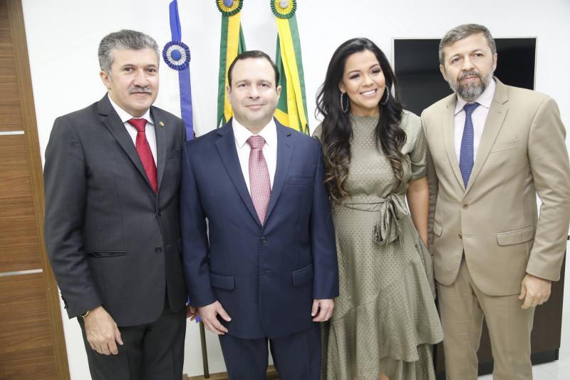 Antonio Henrique, Igor Barroso, Priscila Costa e Elcio Batista