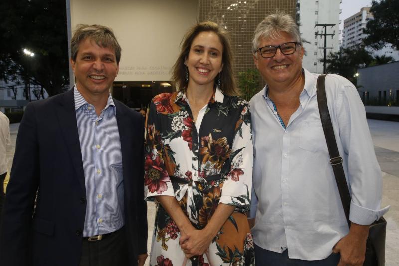 Romulo Soares, Alessandra Romano e Mario Gurjao