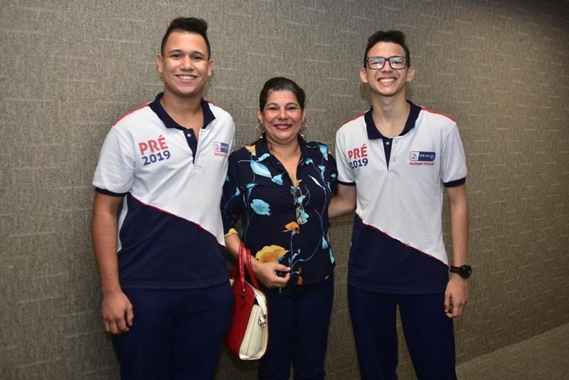 Francisco Wilton, Marilene Porto, Carlos Eduardo