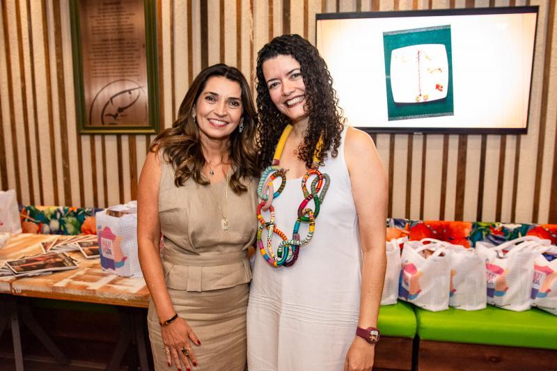 Marcia Travessoni e Ana Claudia Farias