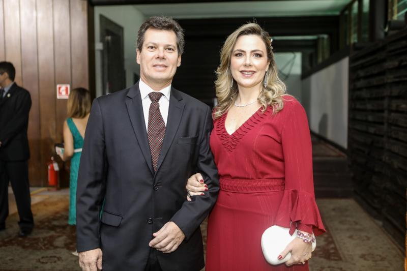 Claudio e Suyane Dias Branco