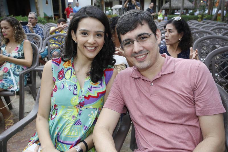 Cristina Cunha e Elisson Melo