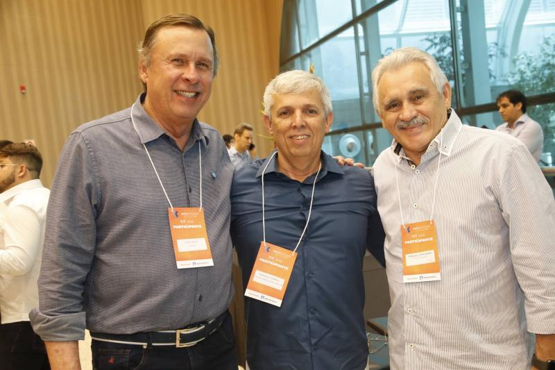 Jose Simoes, Marcelo Correia e Emanuel Capstrano