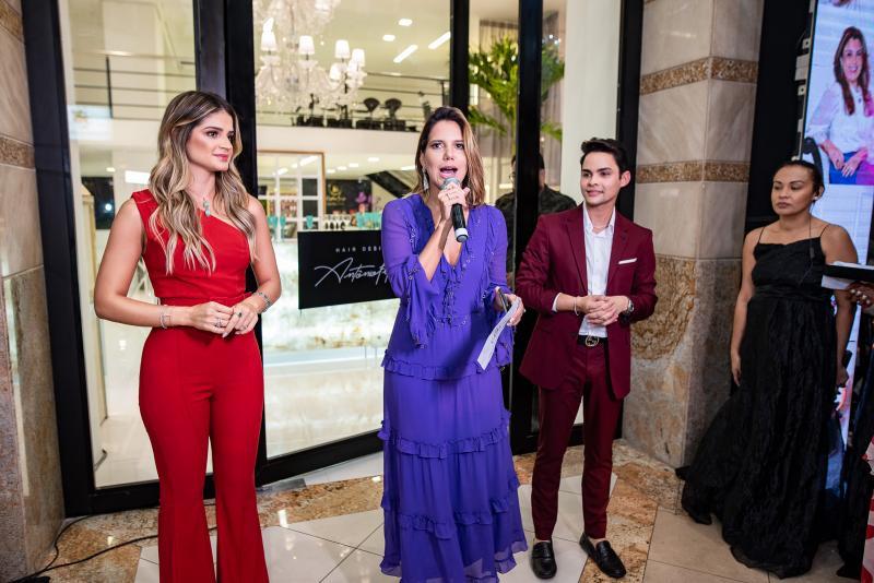 Thassia Naves, Ana Carolina Fontenele e Antonio Felipe