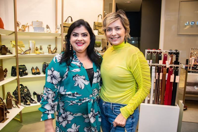 Viviane Almada e Andrea Fialho
