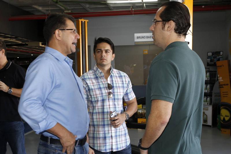 Geraldo Sa, Fabricio Vasconcelos e Ricardo Ribeiro
