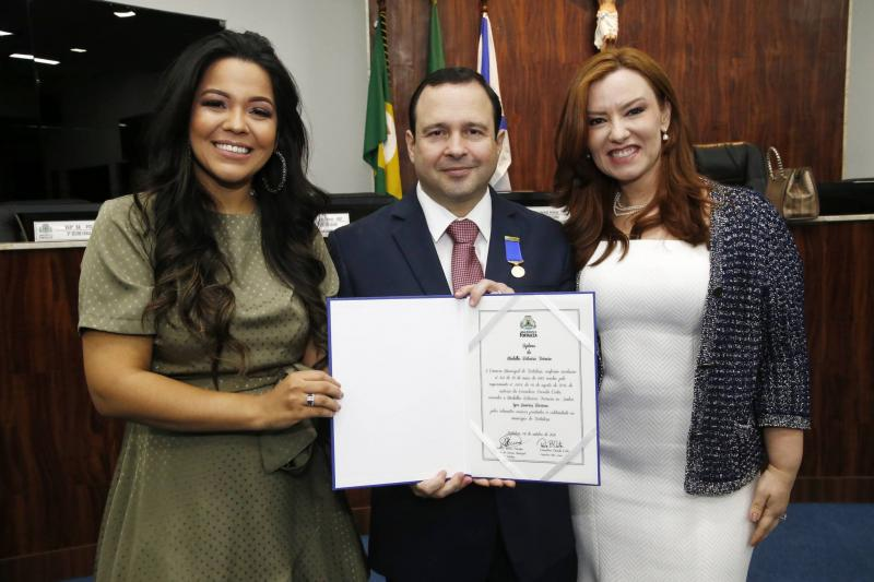 Priscila Costa, Igor e Aline Barroso 2
