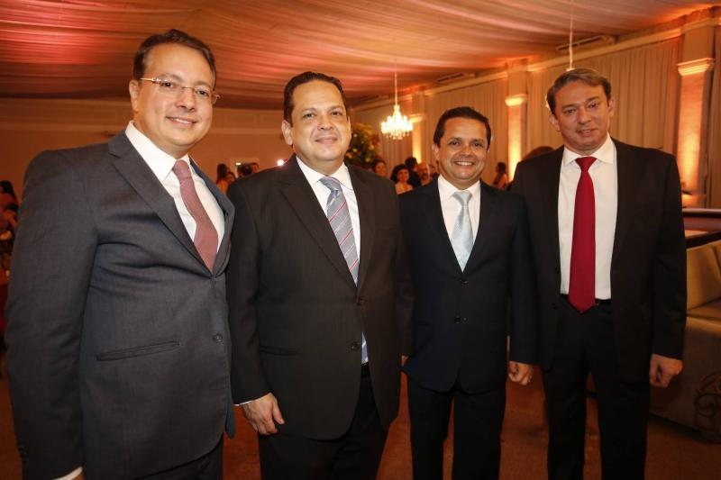Rodrigo Barroso, Marcos Lage, Germano Albuquerque e Paulo Vale