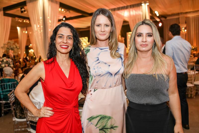 Fernanda Zebalos, Violeta Pascoal e Cristina Vasconcelos
