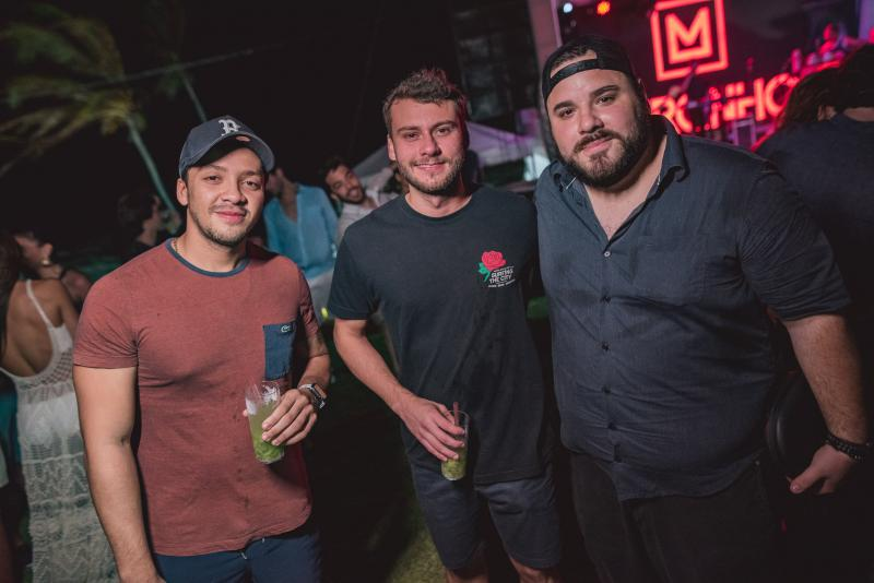 Leonardo Alves, Pedro Diogenes e Lucas Coelho