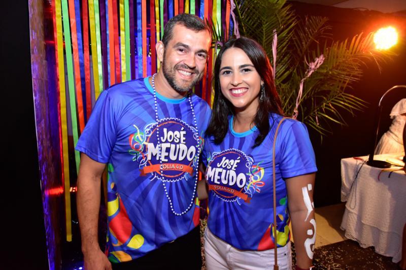 Arley Texeira e Glaucia Rodrigues