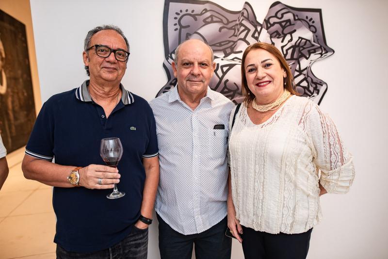 Eugenio Coutinho, Berguisson Fernandes e Fernanda Fernandes