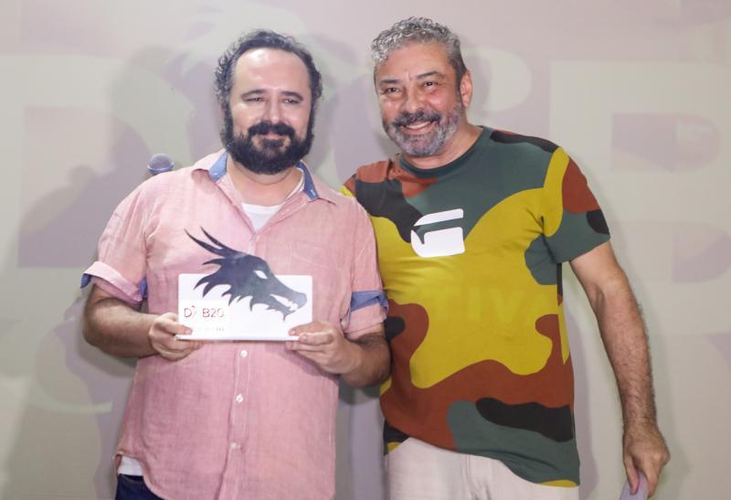 Deocles Bezerra e Claudio Silveira