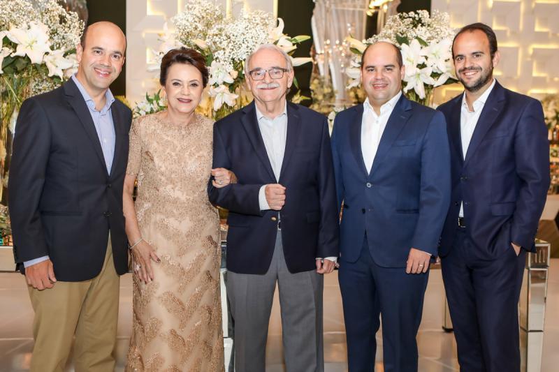 Henrique, Leninha, Ednilton, Guilherme Felipe Soares