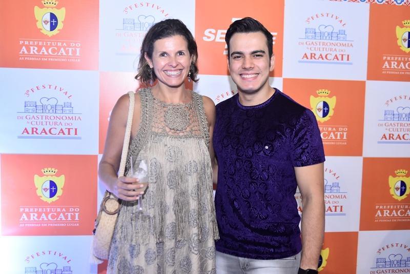 Denise Pontes e Gabriel