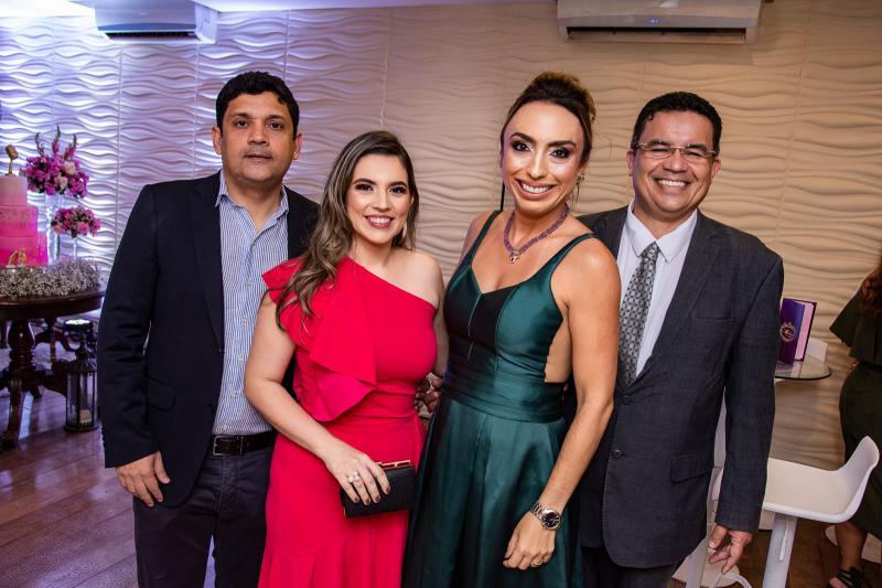 Bruno Queiroz, Juliana Bastos, Mabel Portela e Paulo Henrique Portela