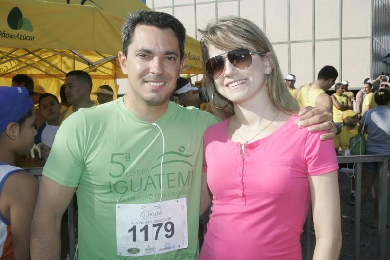 Denis Caldas e Angela Linhares