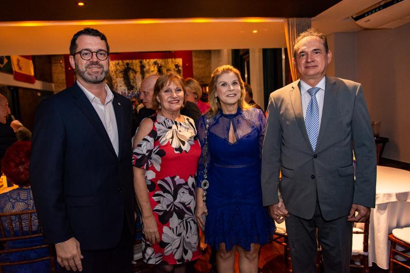 Jose Maria Zanocchi, Reinhilde Lima, Rosangela de Francesco e Washington Araujo