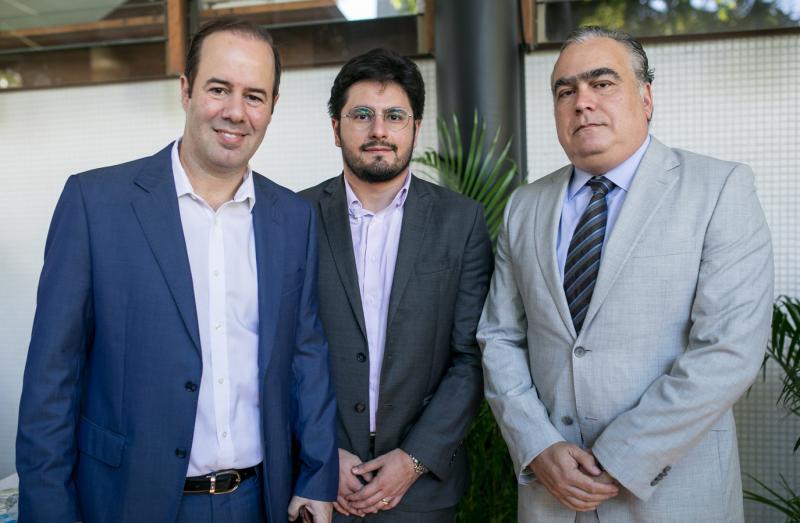 Cesar Ribeiro, Bruno Monte e Helio Parente