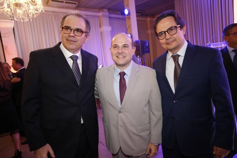 Democrito Dummar, Roberto Claudio e Edilberto Pontes