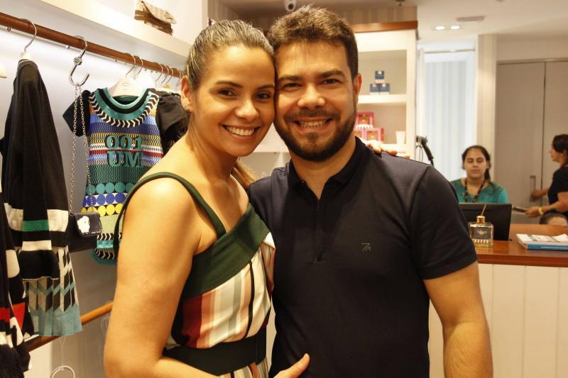 Percilia Correa e Vinicius Fernandes