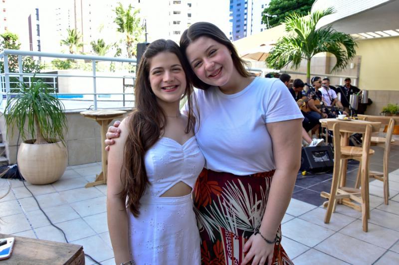 Leticia Lima e Vitoria Queiros