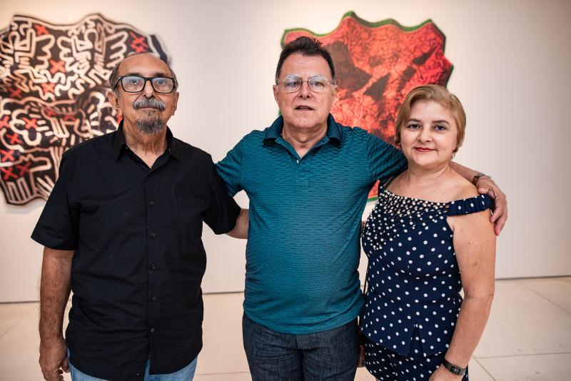 Roberto Galvao, Sebastiao de Paula e Ivonete de Paula