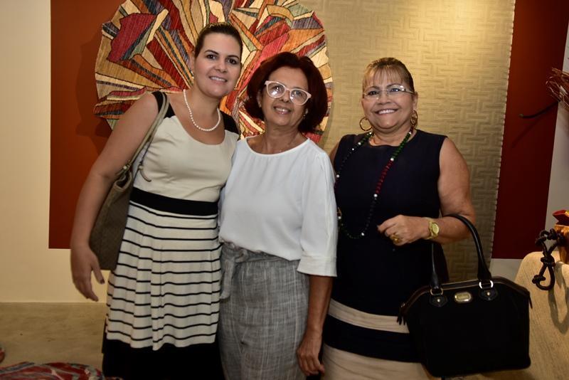 Carla Ielpo, Marana Figlioulo e Sandra Vidal