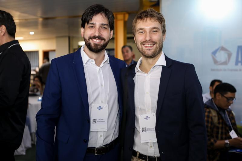 Luis Pires e Benjamin Egot