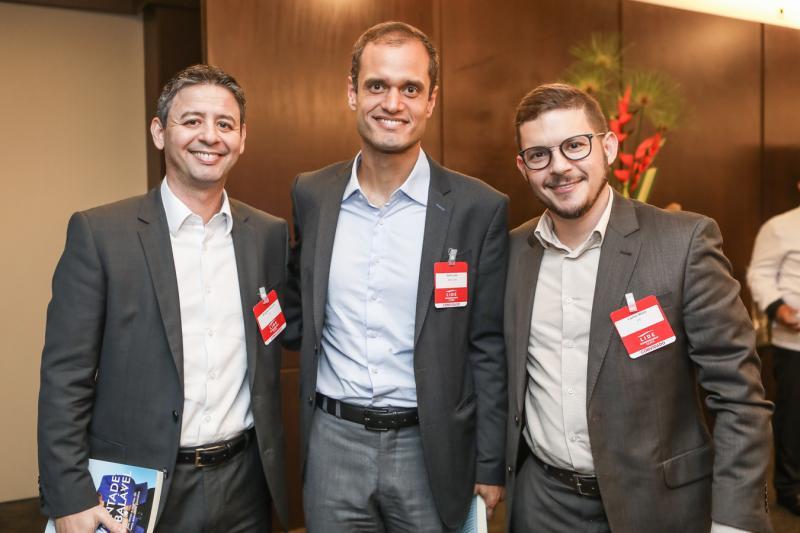 Bergson Pereira, Enio Leao e Carlos Mota