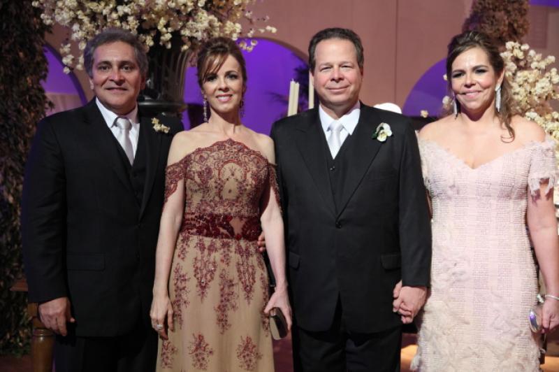 Luiz e Karizia Pontes, Francisco e Ailza Ventura