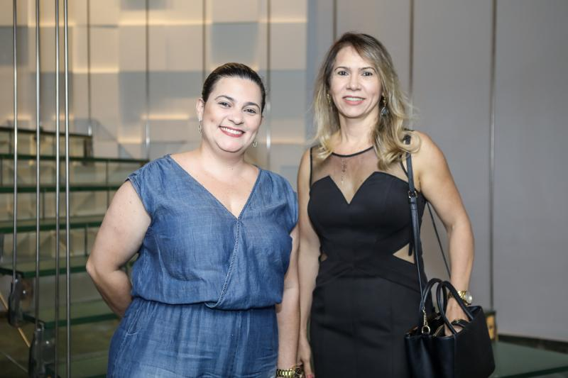 Fabia Costa e Adriana Mourao
