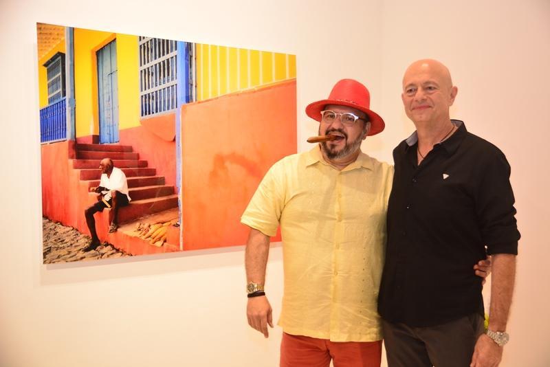 Romulo Lobo e Demetrio Jereissati