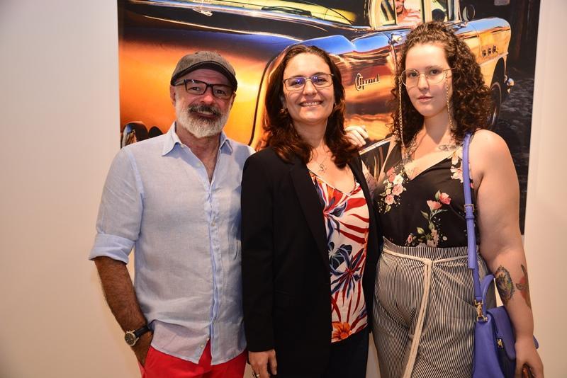 Jose Willian Mota, Marisa Santos e Eduarda Silveira