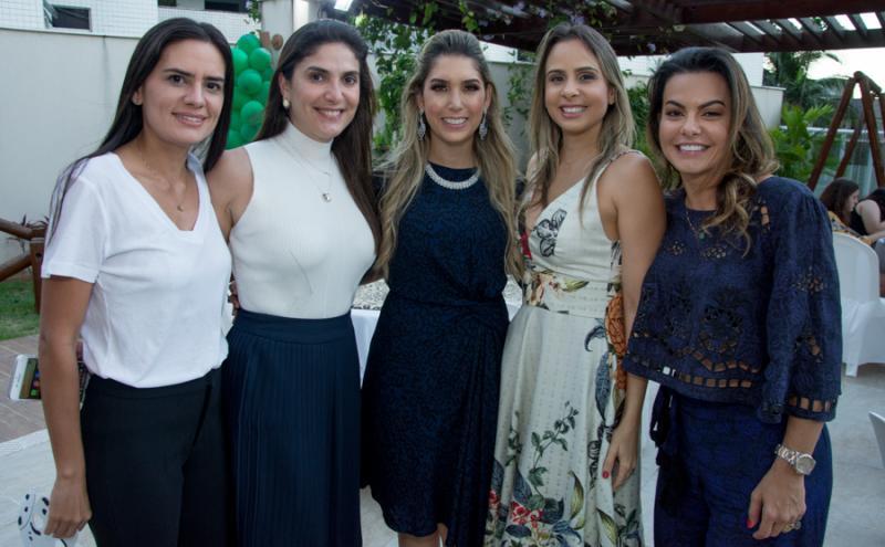Jerusa Aguiar, Cidia Holanda, Georgeanne Benevides, Andreia Gurgel e Rosane Caminha