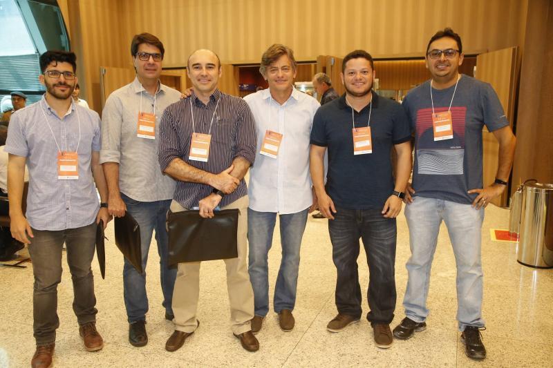 Leonardo Galeno, Marcelo de Castro, Luciano Fontenele, Artur de Albuquerque, Dager Cunha e Edney Lopes