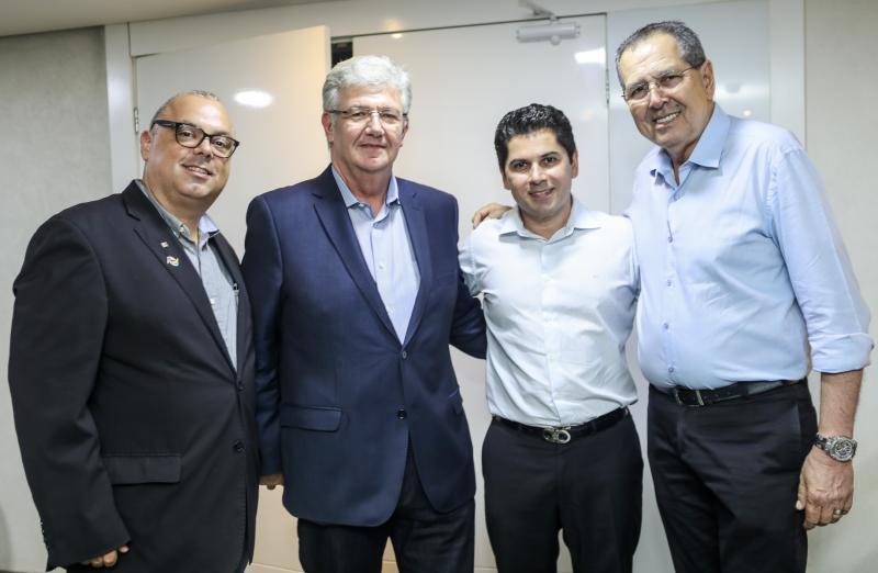 Carlos Alberto Nunes, Carlos Maia, Pompeu Vasconcelos e Ricardo Parente