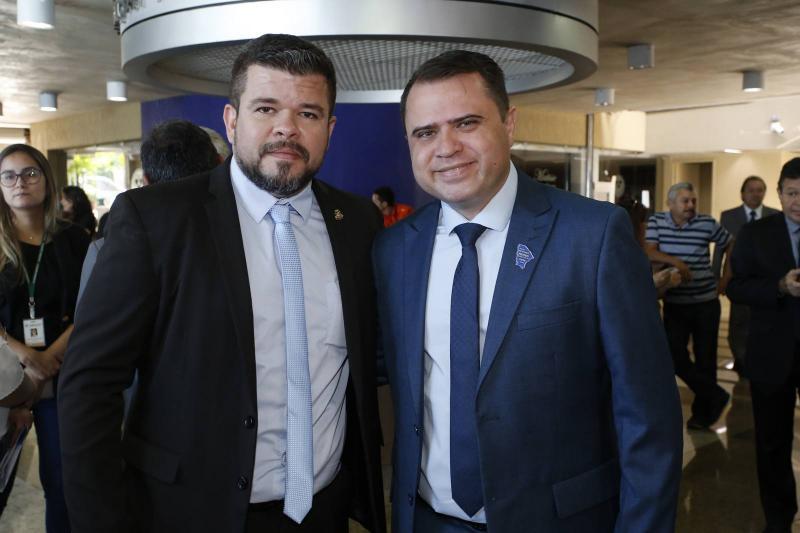 Marcelo Nogueira e Junior Noronha