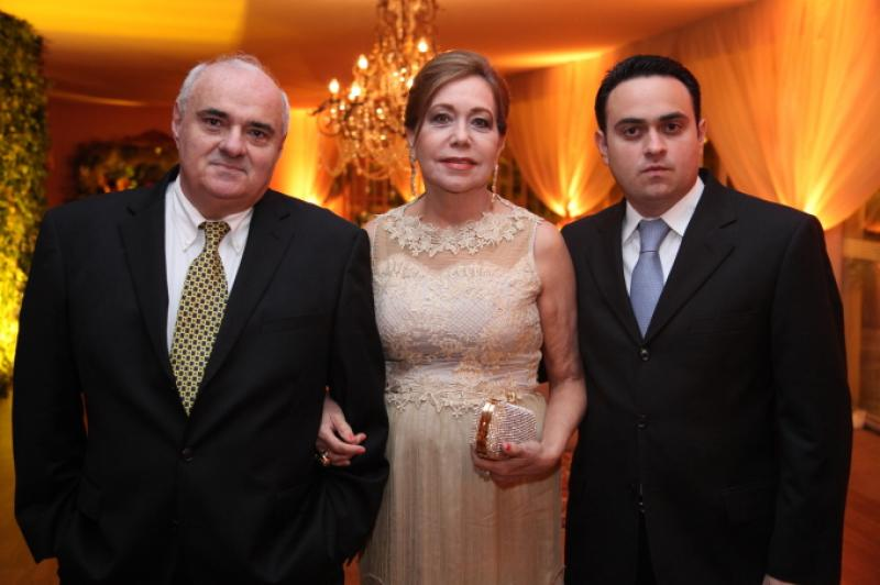 Henrique, Ana e Lula Alcantara