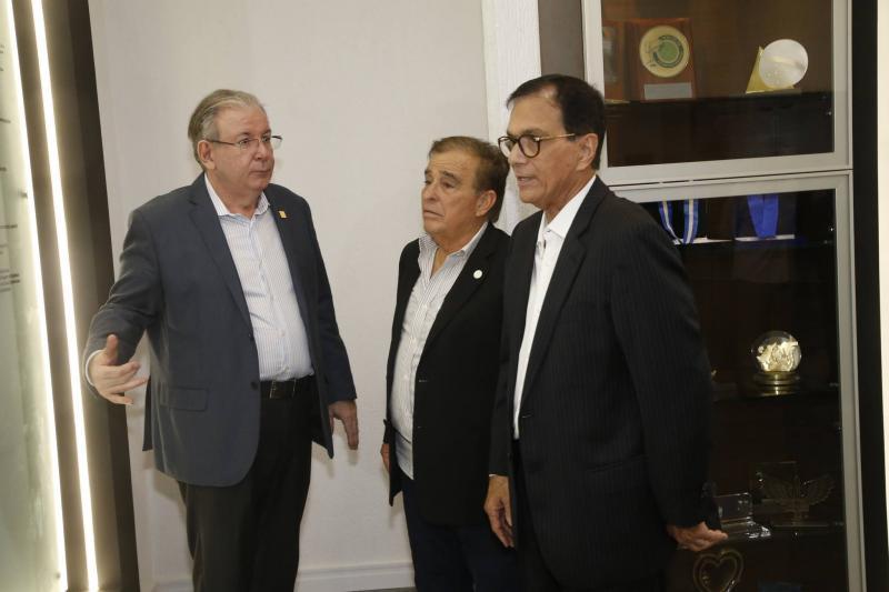 Ricardo Cavalcante, Claudio Targino e Beto Studart