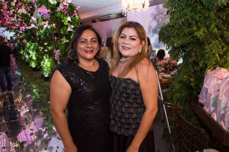 Vanuza Pinheiro e Maria das Gracas