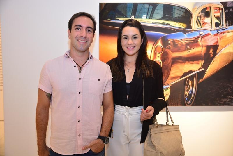 Iury Rodrigues e Mariana Fiuza