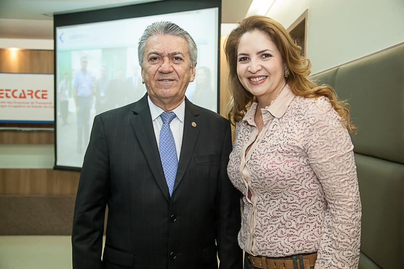 Clovis Nogueira e Enid Camara