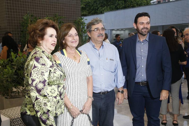 Leda Maria, Ana Studart, Roberto Sergio e Clovis Holanda