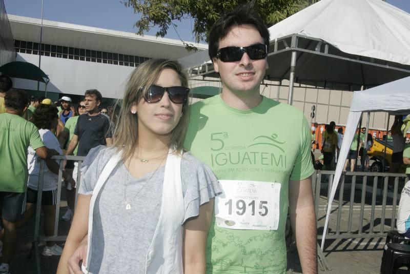 Thais Farias e Sergio Ferreira