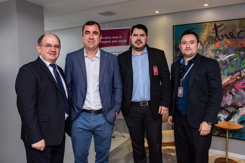 Severino Pires, Cristiano Guerra, Renan Azevedo e  Ilgo Alan