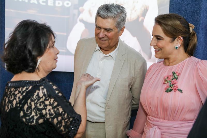Nelma Figueiredo, Amarilio e Patricia Macedo