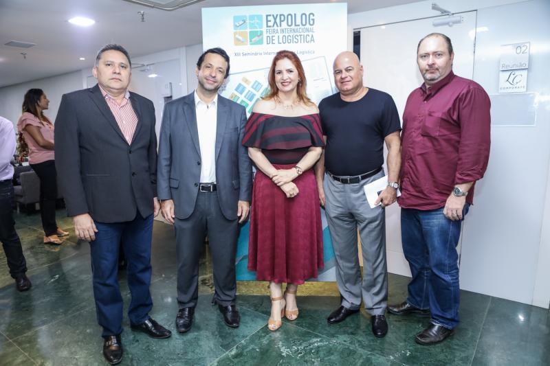 Espedito Róseo, Fred Albuquerque, Enid Camara, Luciano Cavalcante e Marco Massari